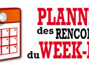 Les Matchs du Weekend du 5 et 6 Octobre2019