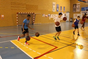 1er Stage de Perfectionnement au PLLL Tours Basket