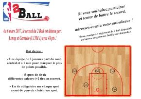 Le Concours du Two Ball Est Lancé!