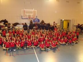 Quel après-midi: le succès de la remise du kit du mini-basketteur au PLLL!