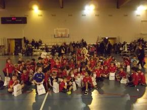 L'École Française de Mini-Basket du PLLL Tours Basket a fêtéNoël.