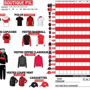 La Boutique Du PLLL Saison 2019/2020 Est EnLigne