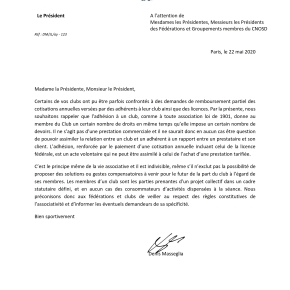 Courrier du Comité National Olympique et SportifFrançais